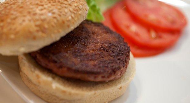 Zrodil se umělý hamburger z vypěstovaného masa
