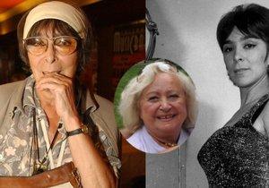 Hana Hegerová murió el 23 de marzo de este año.  Tendría 90 el año que viene.