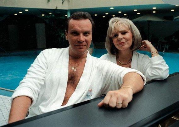 Zveřejnila i fotku z 90. let se Štefanem Margitou