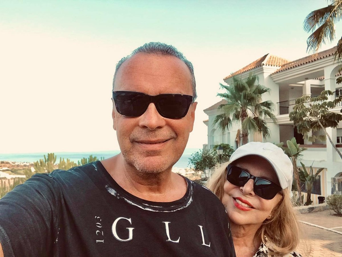 Hana Zagorová a Štefan Margita na dovolené v Malaze