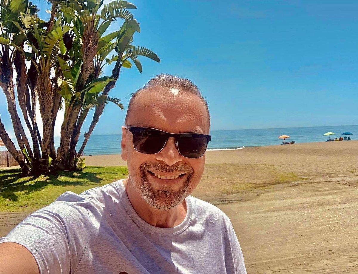 Štefan Margita na dovolené v Malaze