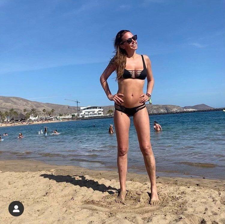 Sexy Agáta u moře