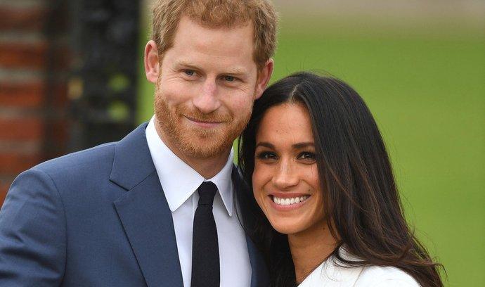 Princ Harry si v sobotu 18. května vezme za ženu americkou herečku Meghan Markle
