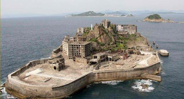 Skutečný opuštěný betonový ostrov ze Skyfall