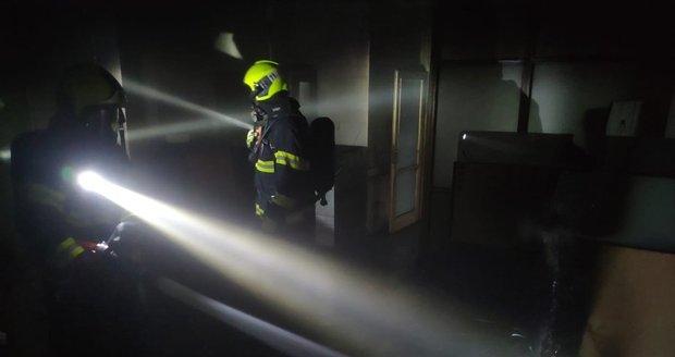 V pondělí hořela budova detašovaného pracoviště úřadu MČ Prahy 4. Všechny osoby byly evakuovány.