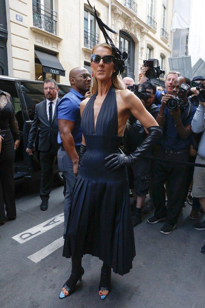 Céline v modelu Schiaparelli