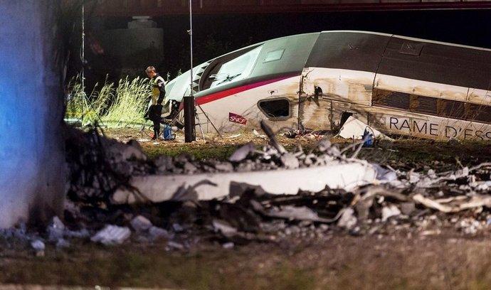 Havárie TGV ve Francii