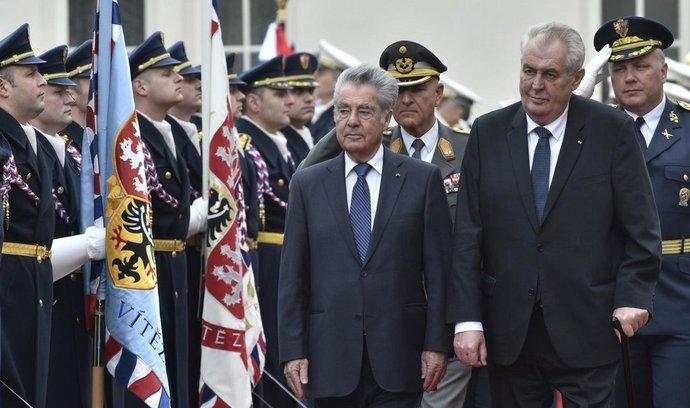 Heinz Fischer, Miloš Zeman,