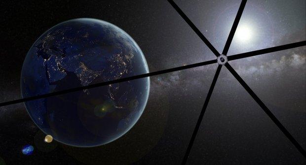 Moderní vynález: Vesmírná plachetnice Helios
