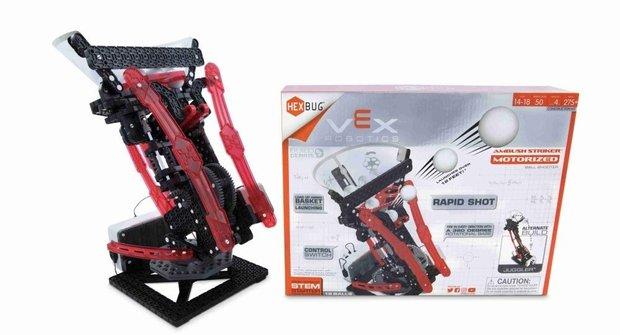 Soutěž s ABC o 5x HEXBUG VEX Robotics Ambush Striker