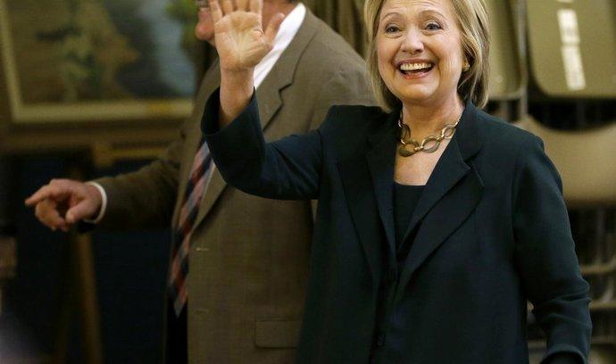 Hillary Clintonová chce být americkou prezidentkou