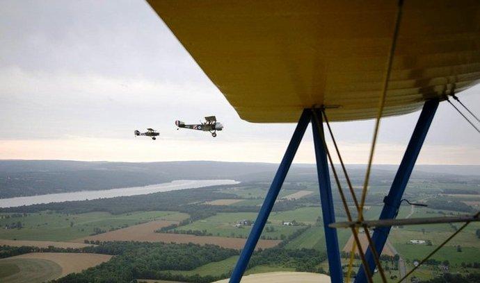 historická letadla, ilustrační foto