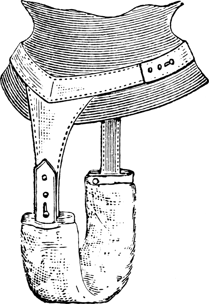 Dámská vložka v roce 1905