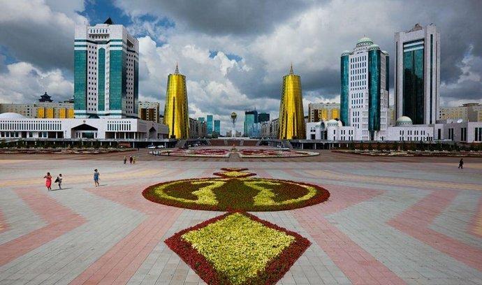 Hlavní město Kazachstánu Astana