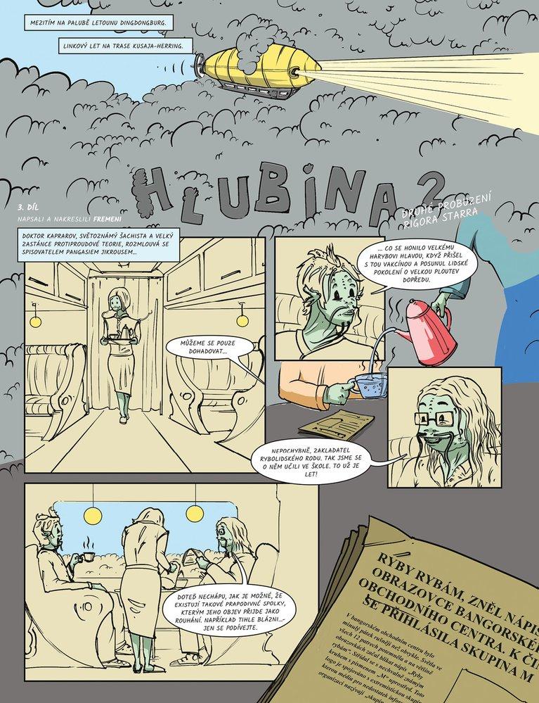 Hlubina II: Posel z minulosti - 3. díl