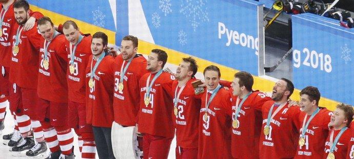 Na posledním olympijském turnaji triumfovali Rusové, ačkoliv nesměli startovat pod svou vlajkou