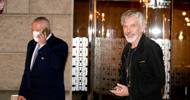 Billy Bob Thornton v Praze