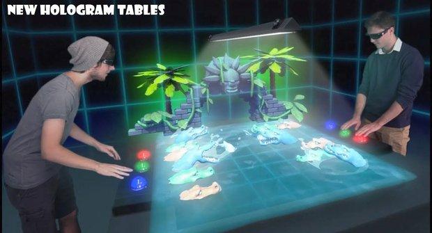 Holografické hry: Do každé domácnosti