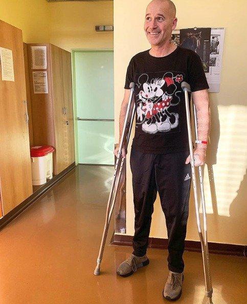 Šťastný Honza Musil poprvé venku z nemocnice: Historický okamžik, říká!