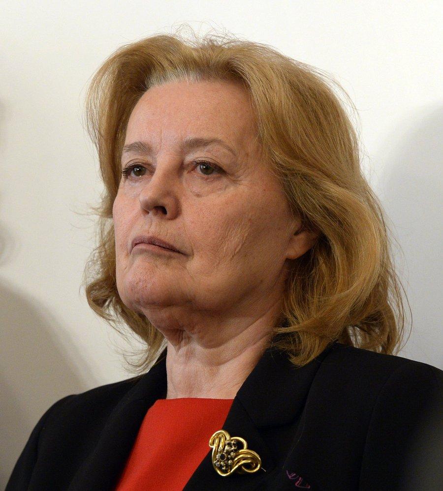 Magda Vášáryová, slovenská politička a bývalá herečka.
