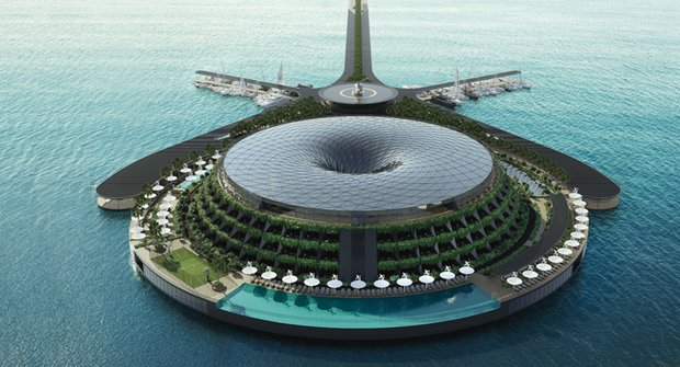 Hotel nebo elektrárna? Stavba s vlastním ekosystémem