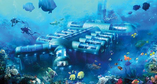 Podmořský hotel: Budoucnost exotické turistiky