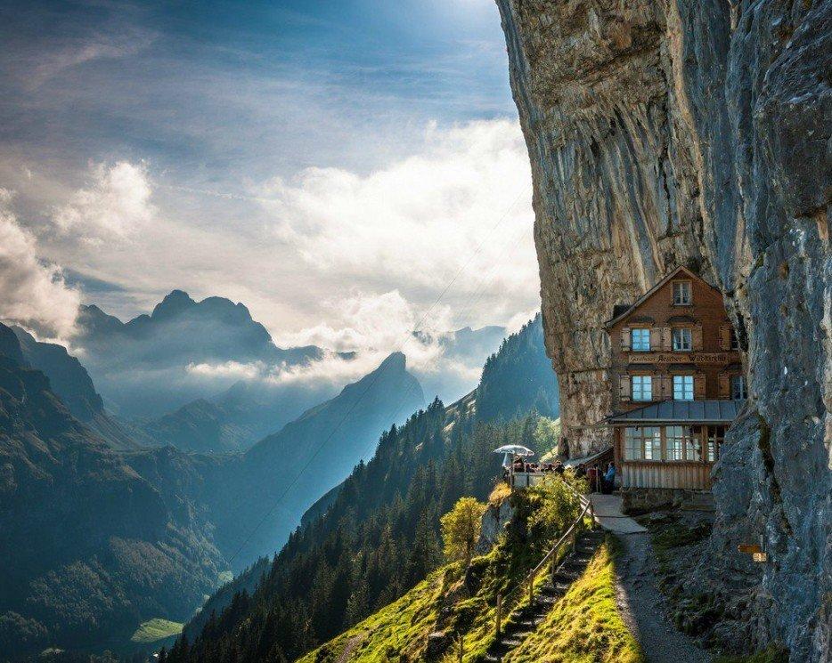 Aescher, Švýcarsko