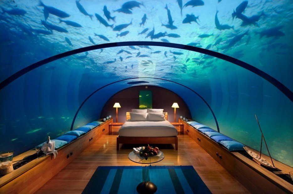 Conrad Rangali Island Resort, Maledivy