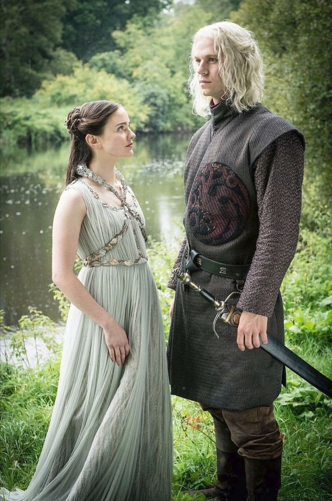 Rhaegar Targaryen a Lyanna Stark - rodiče Jona/Aegona