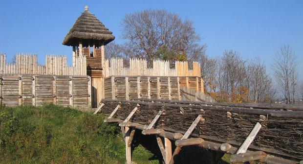Vývoj hradu 1: Slovanská hradiska