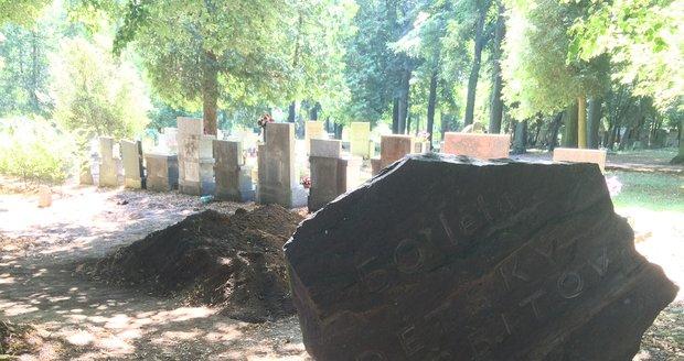 V těchto místech archeologové a odborníci pátrali po ostatcích Zdeny Mašínové starší.