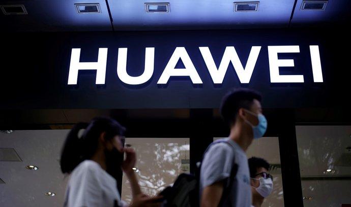 Prodejna Huawei v Šanghaji