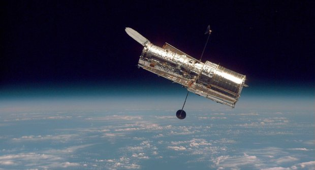 Start raketoplánu s Hubblovým kosmickým dalekohledem