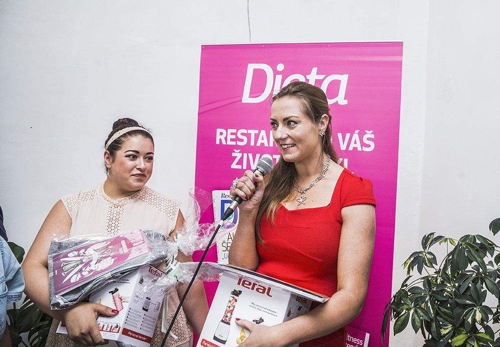Vyhlášení soutěže Hubneme do plavek s časopisem Dieta