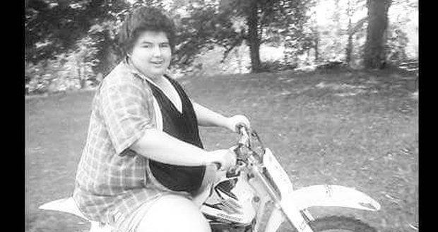 V době, kdy vážil 175 kilo.