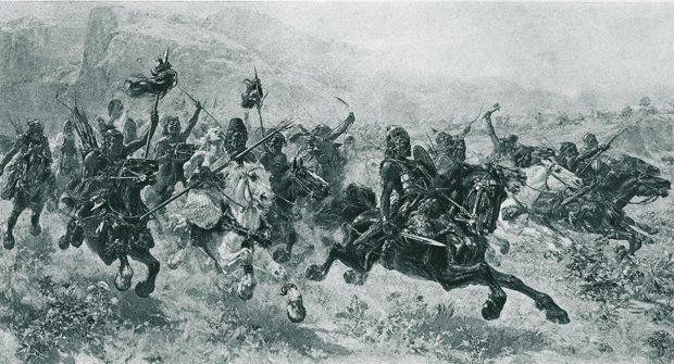 Jezdci apokalypsy Hunové převrátili Evropu vzhůru nohama
