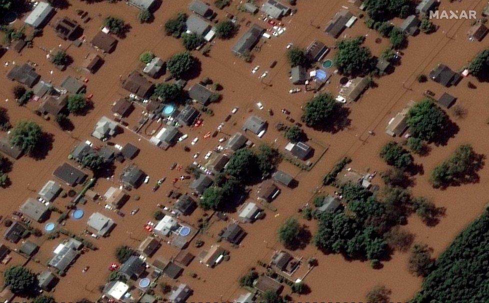 Hurikán Ida řádil na severozápadě USA