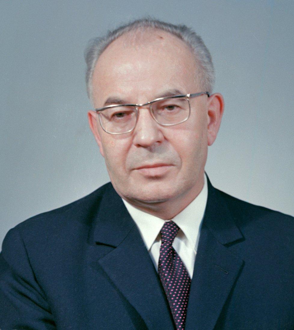 Husák v roce 1970.