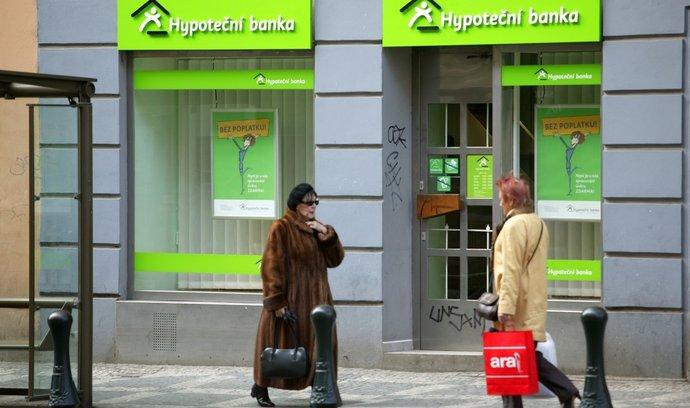 Pobočka Hypoteční banky, ilustrační foto