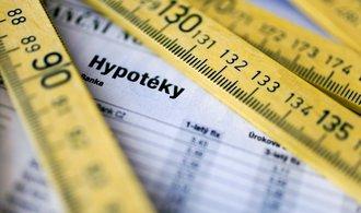 Hypoindex: Průměrná sazba hypoték v srpnu stoupla pošesté v řadě