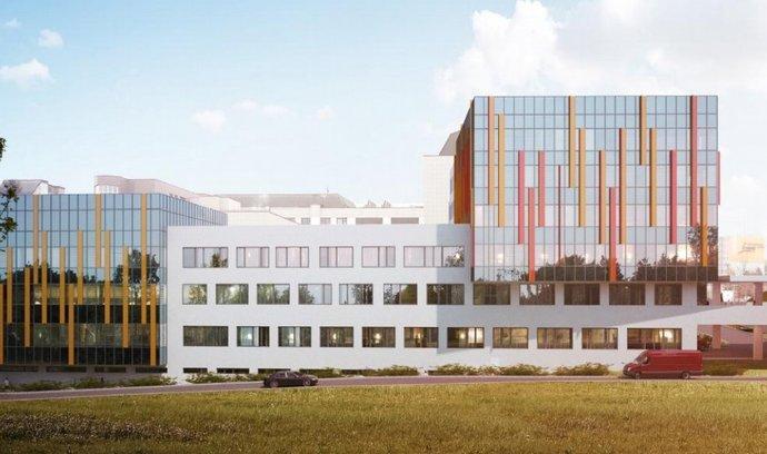 IKEM Praha – návrh nových budov G1 a G2