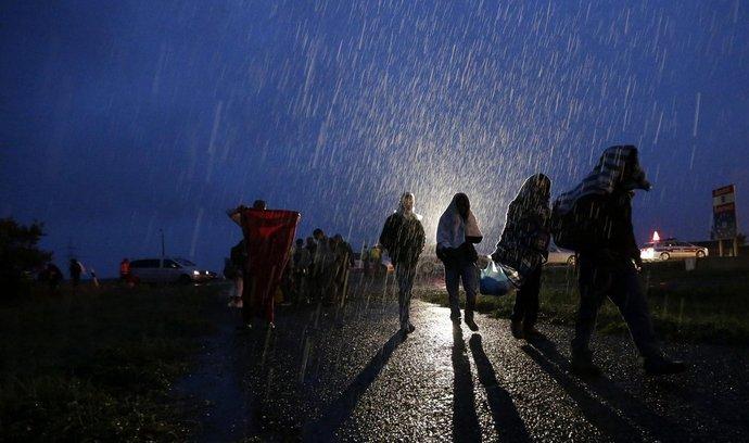 Ilustrační foto uprchlíků