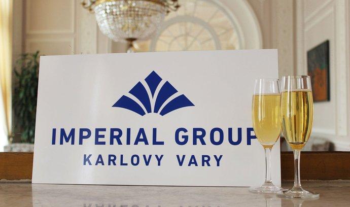 Nové logo společnosti Imperial Karlovy Vary