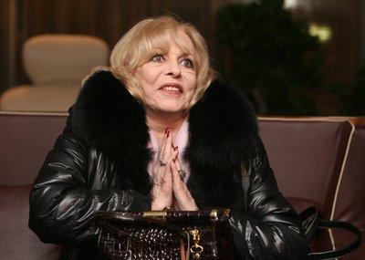 Michèle Mercier si návštěvu Prahy moc neužila.