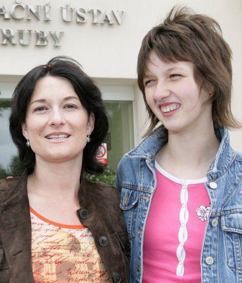 Mirka Čejková s dcerou Petrou se věnuje i charitativní činnosti.