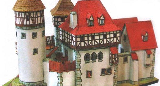 Romantický hrad ze 14. století - 1