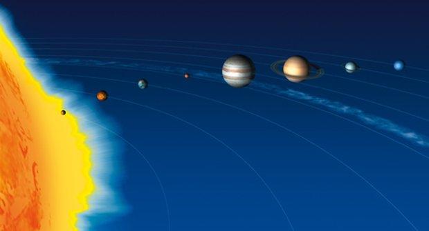 Planety - Sluneční soustava