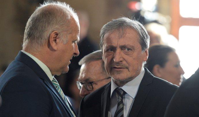 Martin Stropnický na inauguraci Miloše Zemana (8. 3. 2018)