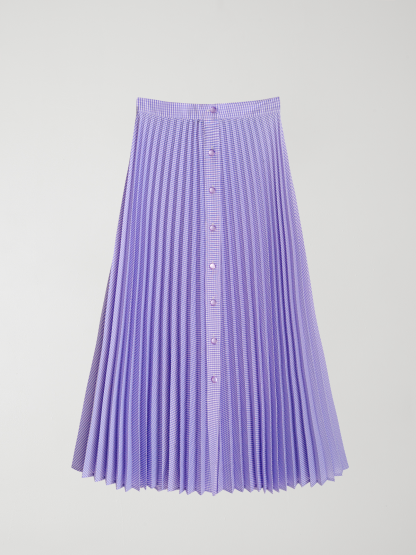 Skládaná sukně, La Veste, 140 eur, www.lavestelaveste.com