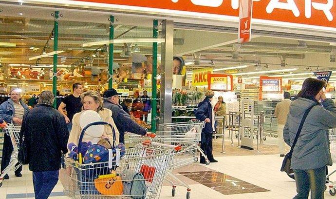 Interspar v karlovarském nákupním centru Kolonáda